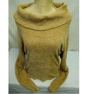 WORTHINGTON L Stretchy Sweater Cowl Neck Pullover